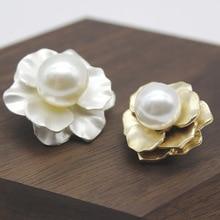 1PCS flower button decoration button sweater coat decoration button temperament ladies fashion acces