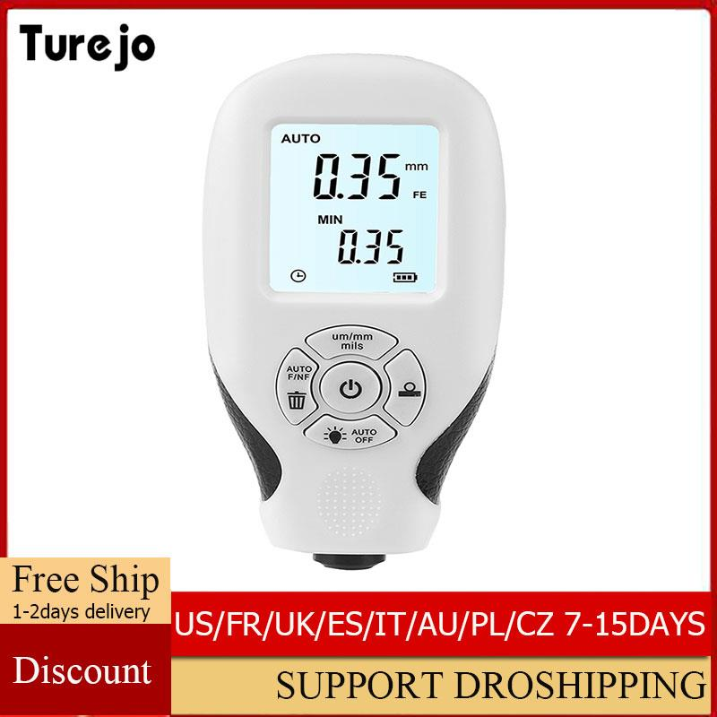 AliExpress - HW-300 Digital Coating Thickness Gauge 1micron/0-1300 Car Paint Film Thickness Tester MFE/NFE Manual Paint Tool