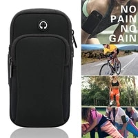 sports arm bag outdoor fitness equipment wrist bag waterproof unisex reflective sport bag case arm band outdoor accessories
