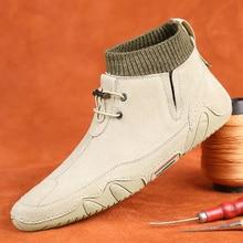 Men's Casual Shoes Men's Spring Men's Casual Light Shoes Sports Shoes no Laces Flat Shoe