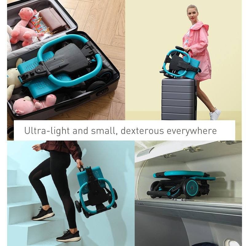 Baby Stroller Reversible Pram for Infant Toddler Mini Travel Stroller Super Lightweight Foldable Carriage Cart Travel Pushchair enlarge
