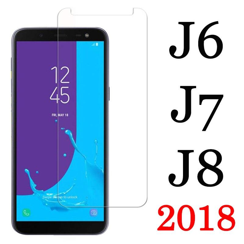 J 6 Protective Glass For Samsung J8 J7 J6 J 7 8 2018 Screen Protector On Sam Galaxy 6J 7J 8J GalaxyJ6 Armor Tempered Glas Film