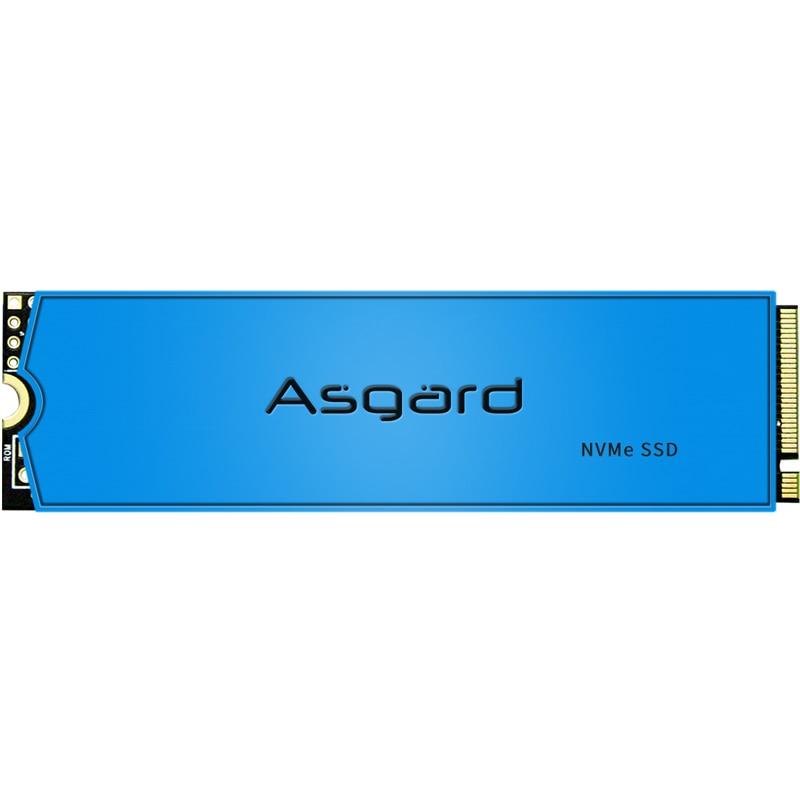Asgard M.2 SSD M2 PCIe NVME 500GB 1 تيرا بايت 2 تيرا بايت محرك الحالة الصلبة 2280 قرص صلب داخلي للكمبيوتر المحمول مع ذاكرة التخزين المؤقت