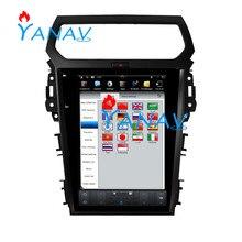 Radio de coche Android con pantalla Vertical de 12,1 pulgadas para FORD Explorer 2013-2017 radio, navegación Gps para coche reproductor multimedia carplay