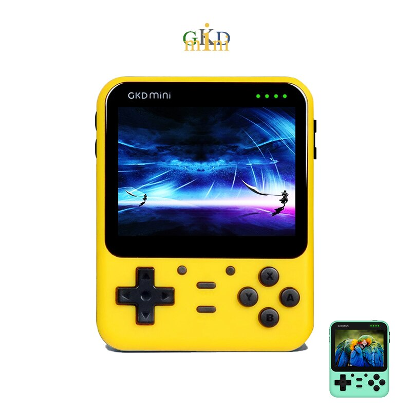 Powkiddy A66 GKD Mini Retro Console Video Game Consoles 3.5 IPS Screen ZPG Open Source PS Gaming Players Children's Gifts