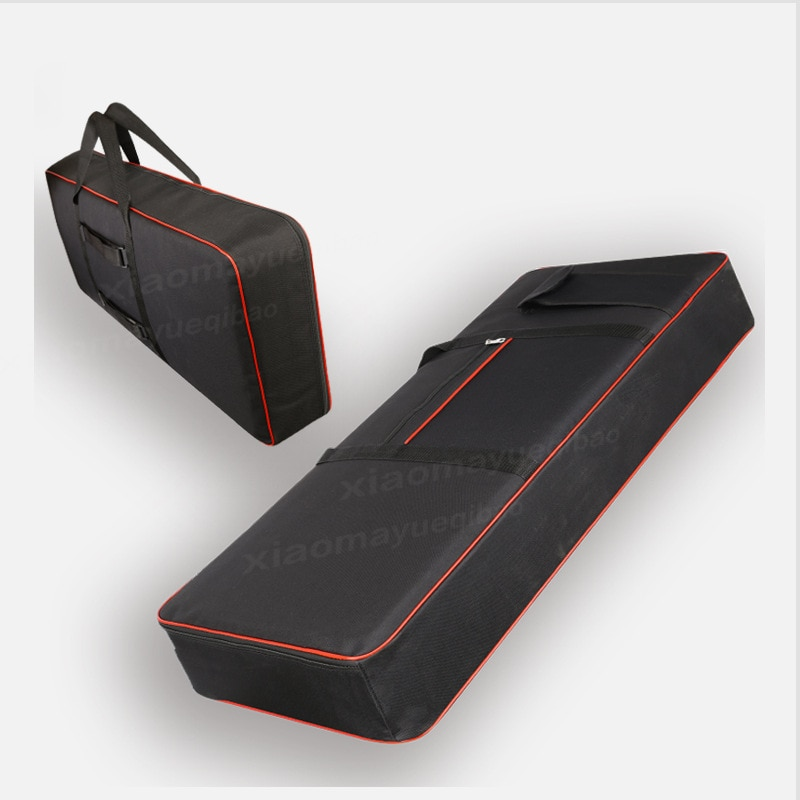 Electronic Keyboard Bag 61 Keys 54 76 88 Keys Oxford Waterproof Plus Cotton Shoulders Thickening Musical Instruments Accessories enlarge