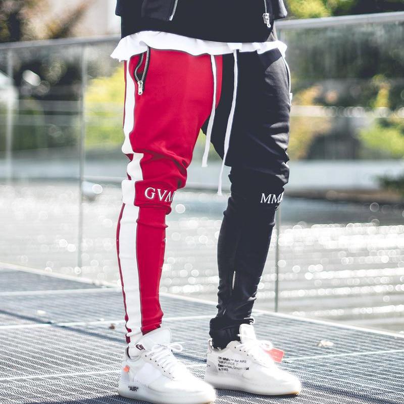 Мужские спортивные штаны MOMO, пестрые штаны для занятий фитнесом и бодибилдингом, спортивные штаны для бега, спортивные штаны для мужчин, апрель 2019
