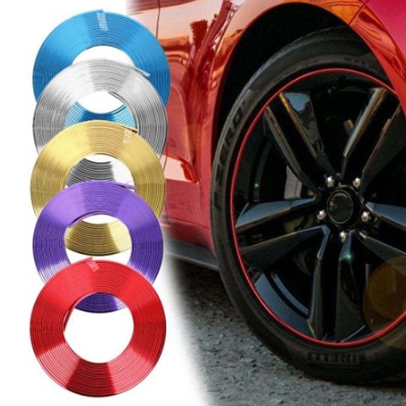8M автомобильные наклейки обода протектор края колеса обода протекторы защита колеса защита шин уход за покрышками автомобильные аксессуары