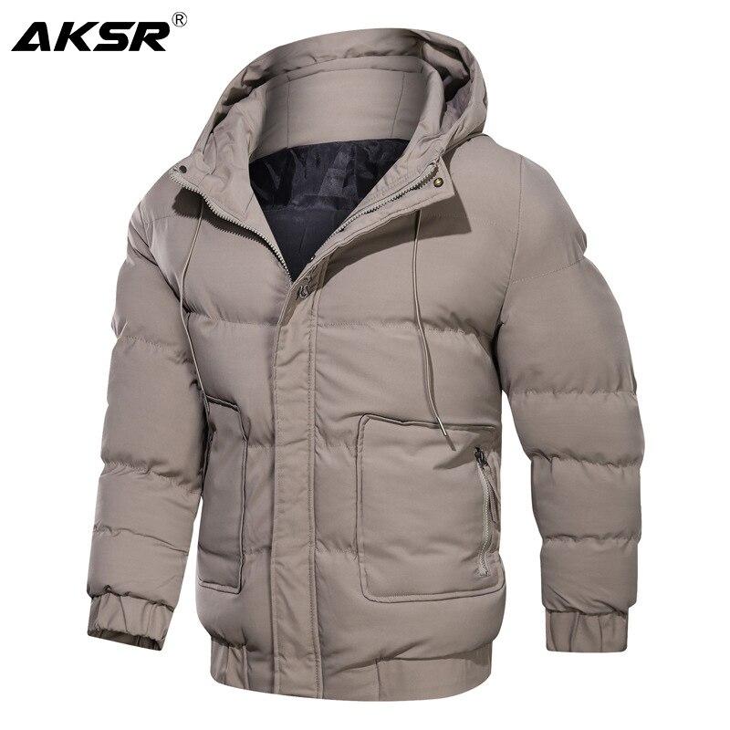 Parka cálida para Hombre, abrigos de invierno, prendas de vestir de talla...
