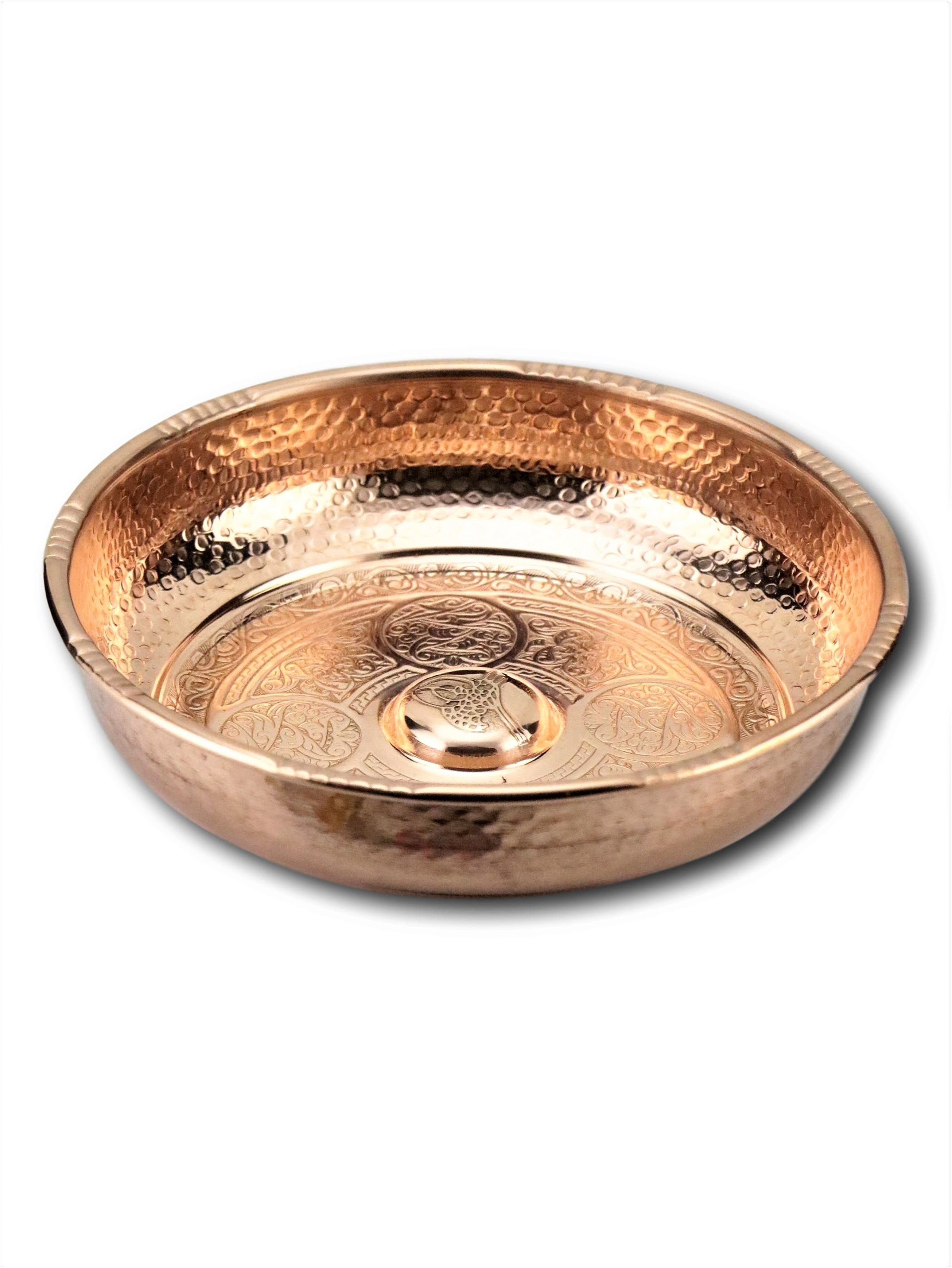 Morya Copper Turkish 2baths Bowl Luxory Bathroom Accessories Elegant Decorative Hammared Handmade Decor Vintage 16 cm enlarge