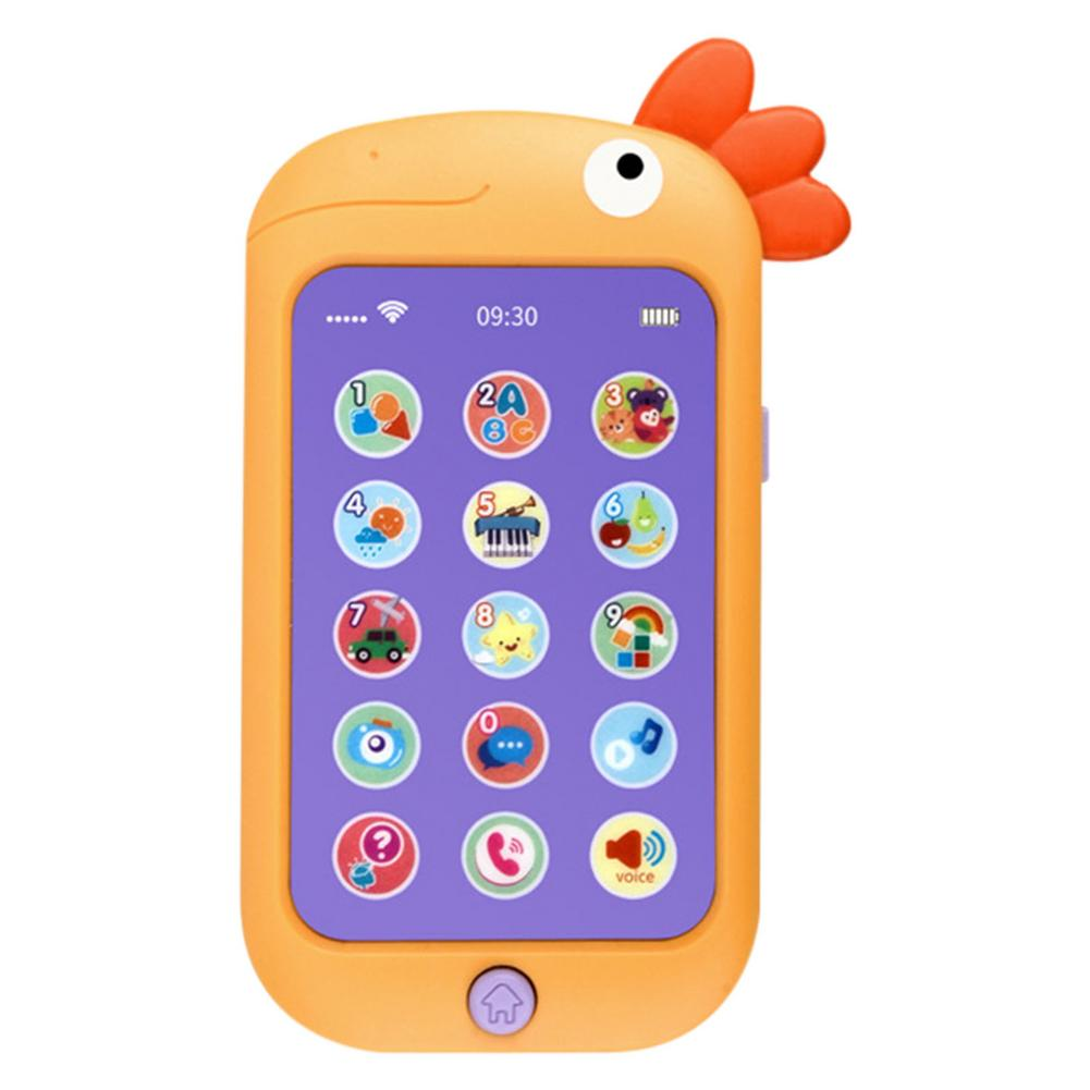 Mobile Phone Baby Toy Educational Phone Toy Baby Early Education English Learning Mobile Phone Toy Gifts multifunction educational learning machine english early tablet computer toy kid interactive toy training