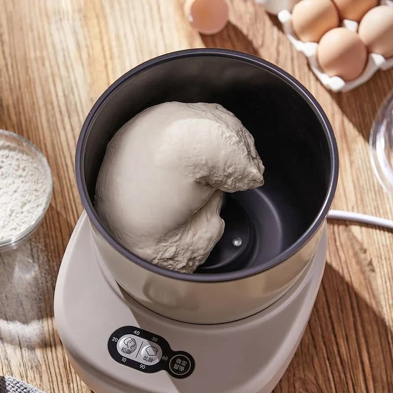 ليكتريك 3.5L عجّان طحين خلاطات بيتيّ خمير حامل خلاط خبز عجان طعام يقلّب صانع حاسوب مصغّر توقيت