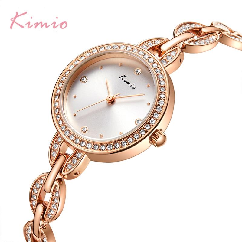 Vestido de Cristal Relógio de Pulso Marca Pequena Dial Feminino Pulseira Relógio 2021 Luxo Diamante Quartzo Relógios Senhoras Reloj Mujer No.2