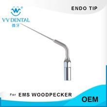 Ponta de endo dental, instrumentos endodontic dental caber ems woodpecker scaler handpiece para limpeza de dentes e clareamento de dentes