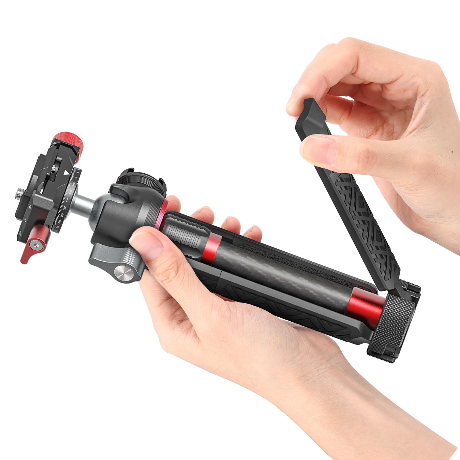 MT-43 Metal Tripod Camera Vlogging Studio Kits Video Shooting Selfie Stick Photography With Ballhead Cold Shoe Tripod enlarge