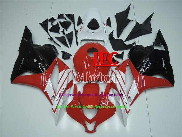 Carenados de motocicleta para Honda CBR600RR F5 2009-2012 09 10 11 12 rojo blanco negro naranja juego de carenados ABS de alta calidad gran oferta
