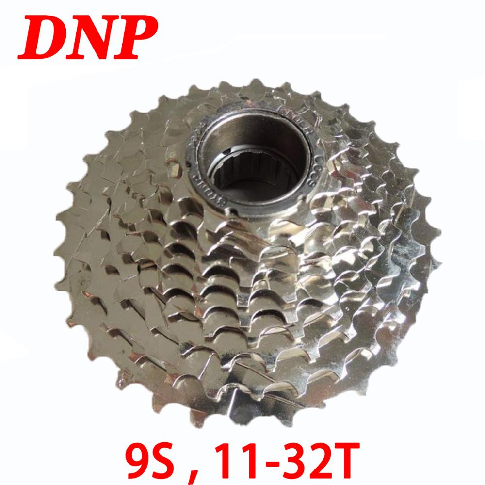DNP 9 velocidad 9 S 11-32t bicicleta volante Cassette MTB montaña carretera bicicleta plegable Torre rueda piñón