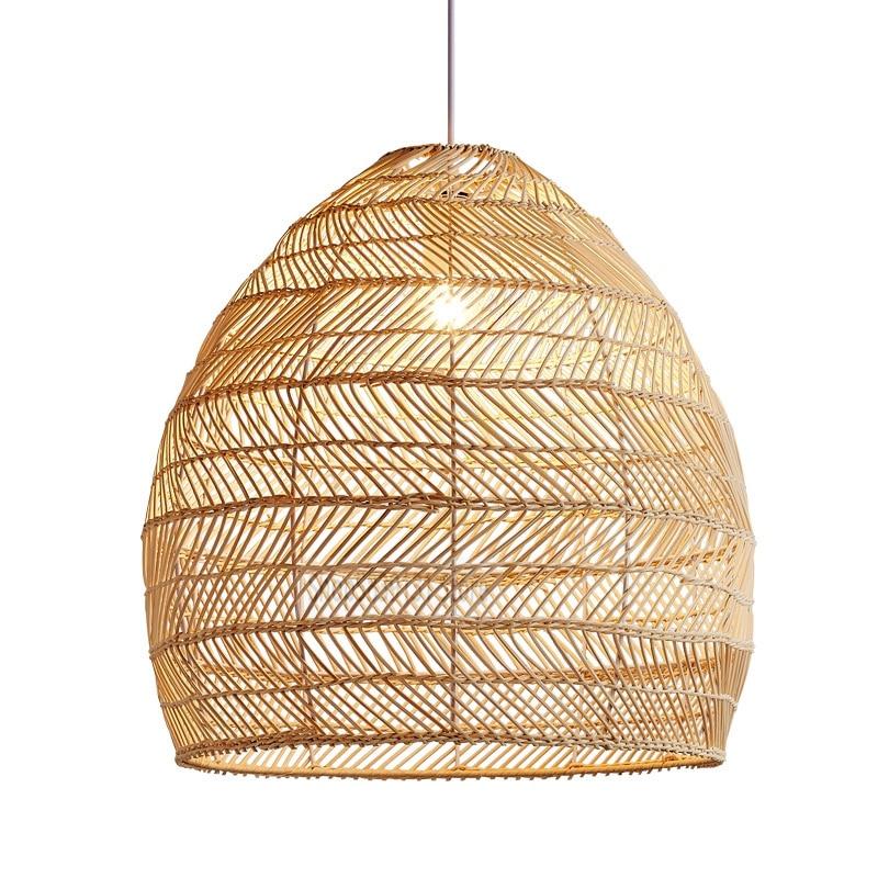 Lampshade for Cover Table Lamp Rattan Lamp Pendant Light Vintage Hanging Lighter E27 Living Dining Cafe Restaurant Home Decor