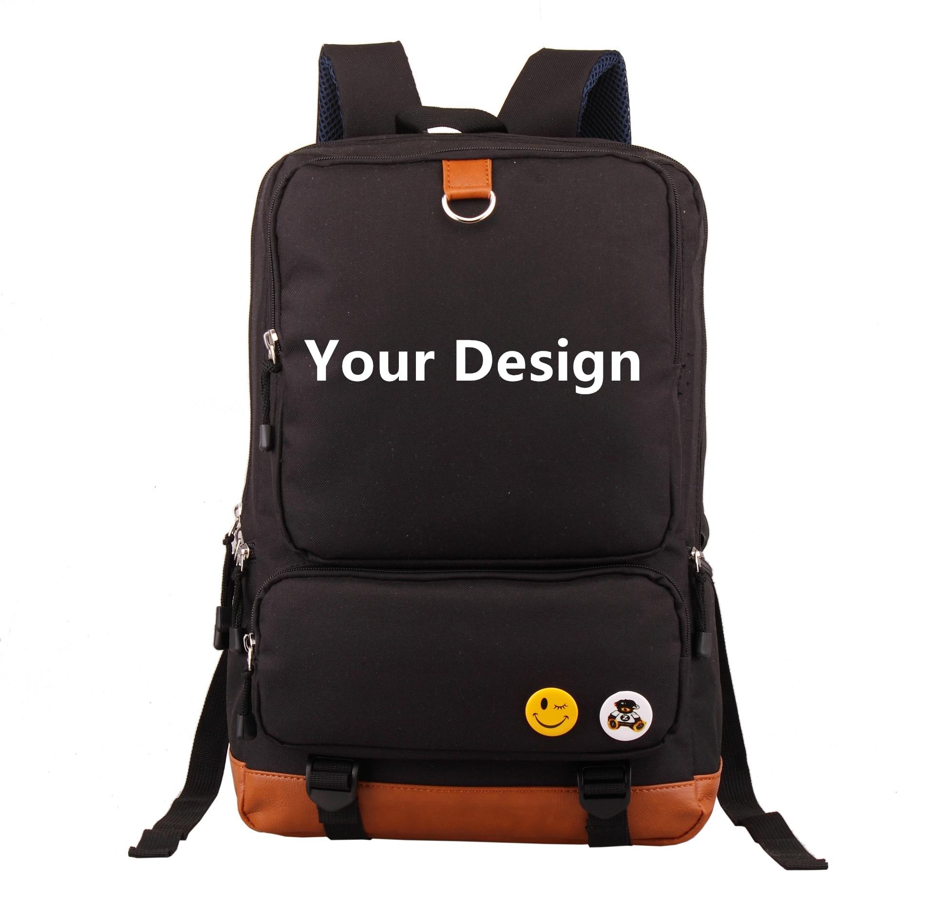 Dropshiping Angepasst Design Oxford Reise Rucksack Mädchen Große Schule Taschen Studenten Bookbag USB Laptop Rucksack