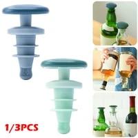 1 pcs bottle stopper wine bottle plug barbed silicone reusable wine bottle stopper airtight wine bottle beverage bottle cover