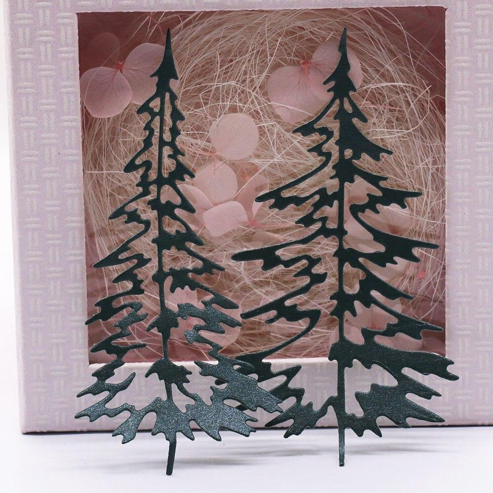 Uds.-troqueles de corte de Metal de árbol de Navidad, álbum de recortes,...
