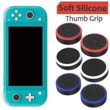 2pcs Rubber Rocker Caps for Nintendo Switch Joystick Thumb Grip Cover Case Analog Stick Caps
