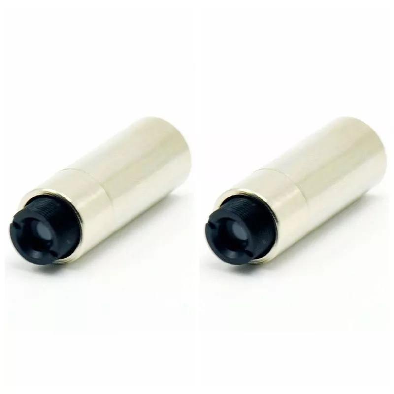 4шт регулируемый мини 12x30 мм металл TO-38 3,8 мм лазер диод корпус хост чехол w коллиматор линза упаковка из 4