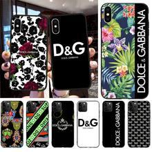 Nouvelle individualité DG luxe Unique couverture de téléphone pour iphone 12 pro max 11 pro XS MAX 8 7 6 6S Plus X 5S SE 2020 XR étui