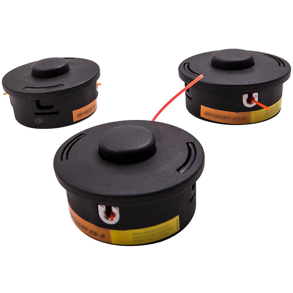 3x cabezal de corte 40027102191 para Stihl FS88 FS90 FS90R FS100 FS100R FS106 FS108 4002-710-2191 de 4002 de 710 a 2168