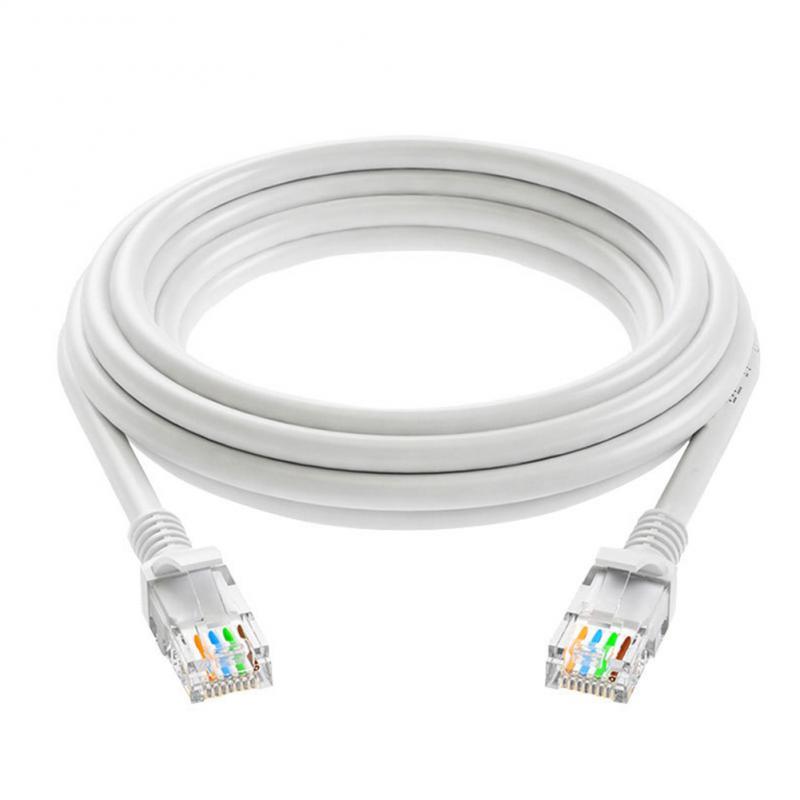 Cable de cobre de 8 núcleos RJ45 CAT-5e, Cable de red Ethernet...