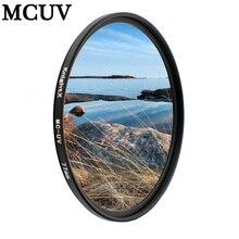 KnightX MC filtr soczewki UV akcesoria diy zestaw dla sony nex Nikon d3100 d5000 canon eos 700d 500d 550d 1000d mark ii SLR 52 58 67