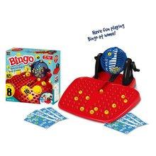 Bingo gobelet loto Machine de loterie 90 balles numérotées 48 cartes jeu de famille parfait enfants cadeaux jeu drôle jouets