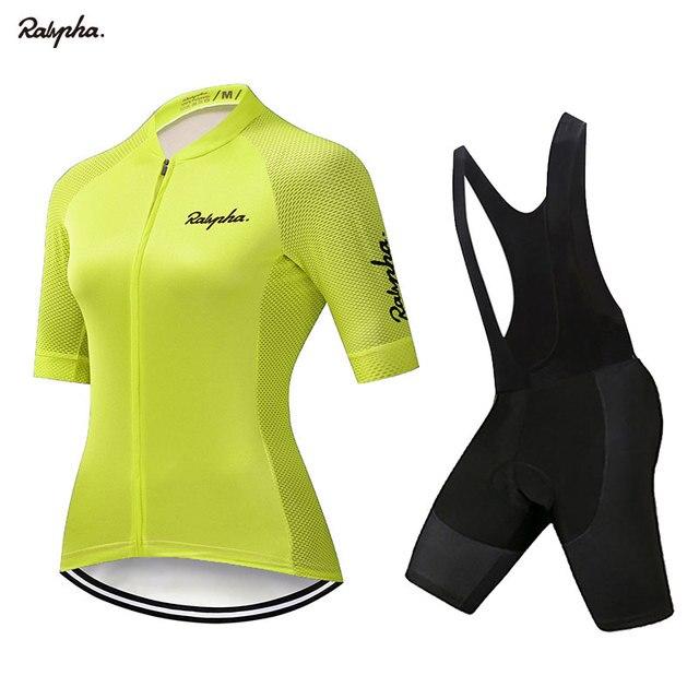Gobikeful-Conjunto de ropa de ciclismo para mujer y camisetas y pantalones cortos...