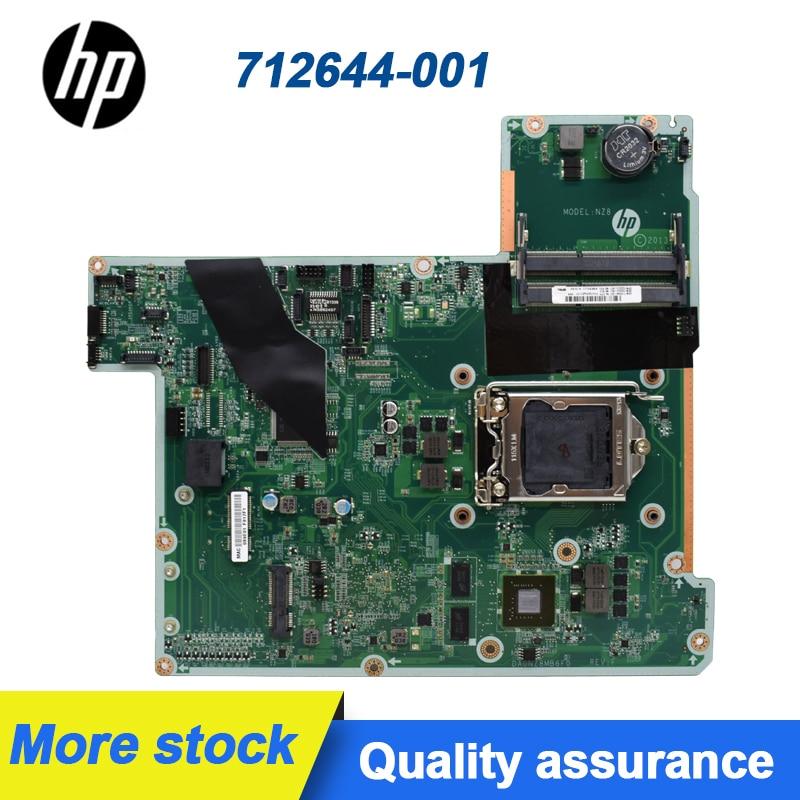 اللوحة الأم الكل في واحد HP Touchsmart 23-K 27-K ، 712644-001 732223-501 DA0NZ8MB6F0 LG115X SR175 H87 ، تم اختباره بالكامل