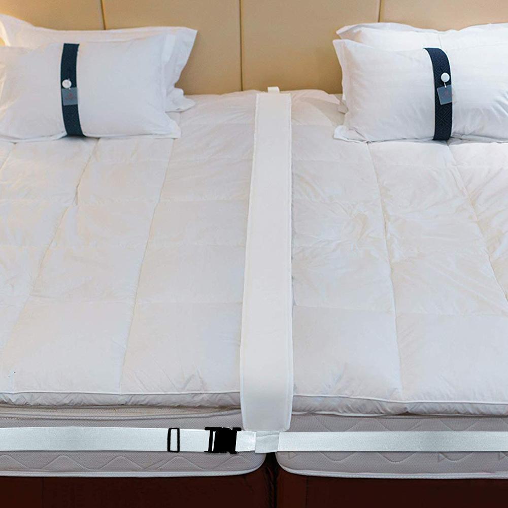 Комплект конвертеров для кровати с двойным соединением в King, наполнитель для кровати с зазором, чтобы сделать две односпальные кровати в разъем для матраса для гостей