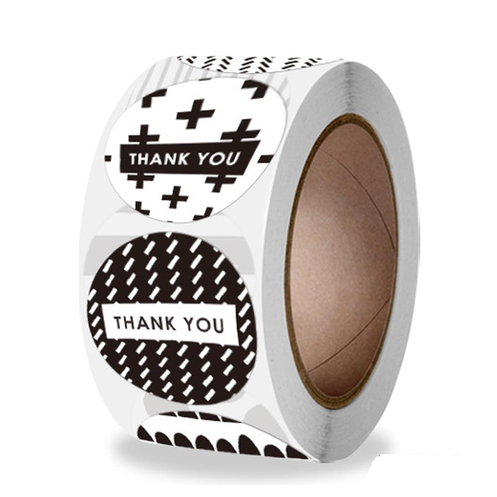 100-500-uds-gracias-pegatinas-en-blanco-y-negro-8-diferentes-diseno-adhesivo-etiquetas-para-etiquetas-de-para-decoracion-hecha-a-mano