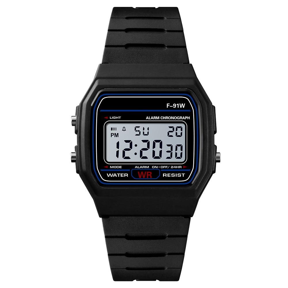 Luxury New Brand Design LED Watch Multifunction Life Waterproof Watch For Men Women Cheap Electronic