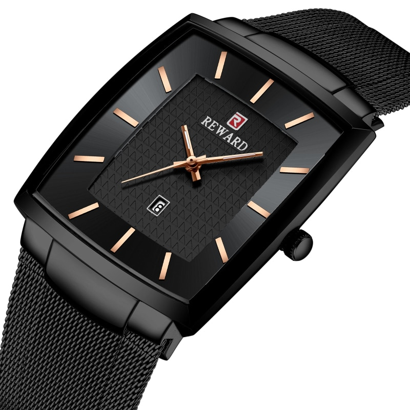 Reloj de marca reconocida para hombre, reloj de negocios con calendario a la moda para hombre, reloj de cuarzo resistente al agua para hombre, reloj Masculino para hombre