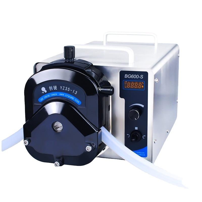 Chuangrui Digital Industrial Liquid Transfer Peristaltic Pump With Good Quality enlarge