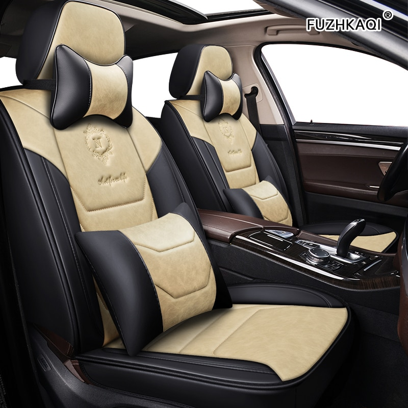 FUZHKAQI cubierta de asiento de coche para Changan todos los modelos CS75 CS35 CX20 CX30 CS15 CS95 CS55 asientos de coche