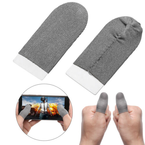 Mobile Games Finger Sleeve Smoothy Screen Gaming Controller Touch Screen Breathable Fingertips For mobile PUBG Games Accessories general mobile games joystick touch screen rocker controller