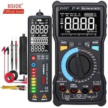 BSIDE ZT-M1 Авто/Ручной цифровой мультиметр EBTN тройной дисплей 8000 отсчетов батарея тест напряжение VFC квадратная волна тестер выхода тест er