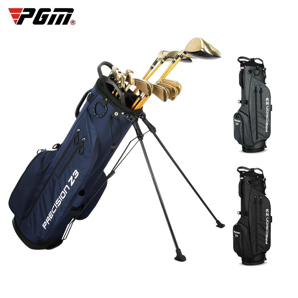 Golf Bag for Clubs Full Set Putters Driver Balls Gloves PGM Men Women's Portable Stand Golfbag Waterproof Outdoor Sport Supplies