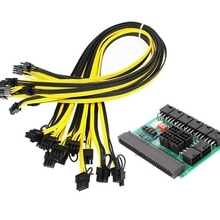 Breakout Board and Cable, Power Supply Breakout Board and 12Pcs 18AWG Cable for HP DELL Lenovo Watt