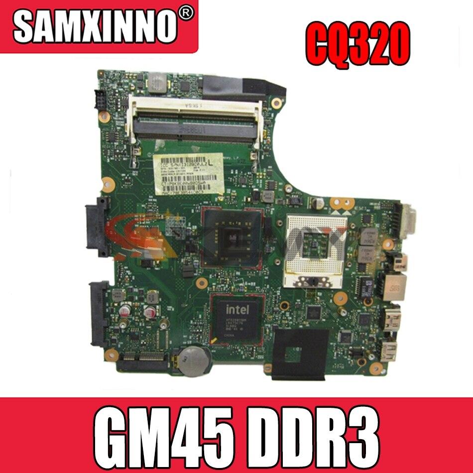 Akemy 605748-001 605747-001 ل HP CQ320 420 620 اللوحة المحمول GM45 DDR3 شحن وحدة المعالجة المركزية