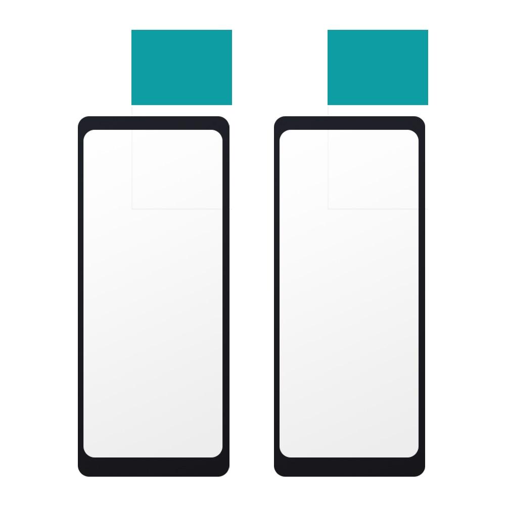 2x 3D Самоклеящиеся Защитные пленки для экрана Huawei Talk Band B6, чехлы для смарт-браслета