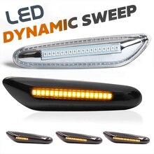 LED Dynamic Side Marker Light Sequential Turn Signal Lamp for BMW E46 X3 E83 X1 E84 E60 E61 F10 E81 E82 E87 E88 E90 E91 E92 E93