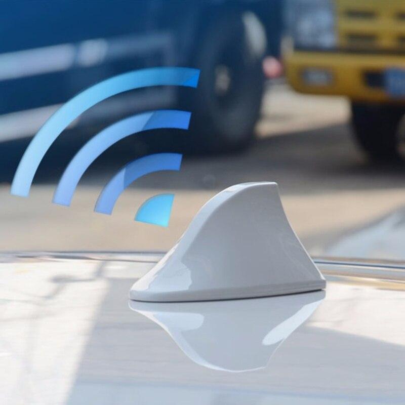 Antenas de señal de coche alerón con forma de aleta de tiburón para Peugeot RCZ 206 207 208 301 307 308 406 407 408 508 2008 3008 4008 5008