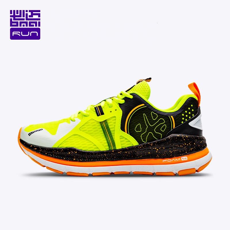 BMAI ماركة 40 كجم ماراثون توسيد احذية الجري للرجال تنفس مهنة المشي أحذية رياضية رجالي الدانتيل متابعة رجل أحذية رياضية