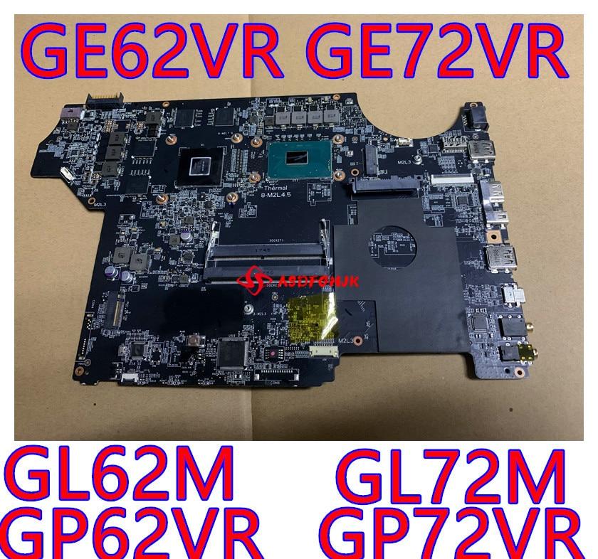 الأصلي MS-16J91 REV 1.0 اللوحة الأم ل MSI MS-16J9 MS-1799 اللوحة المحمول GE62VR GE72VR GP72VR GP62VR GL62M GL72M